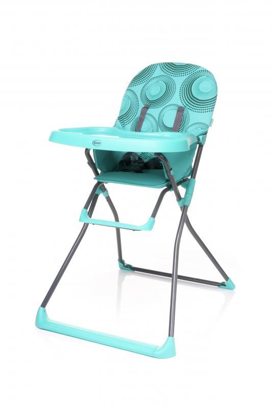 Jídelní židlička 4Baby Flower 2017 - turkus