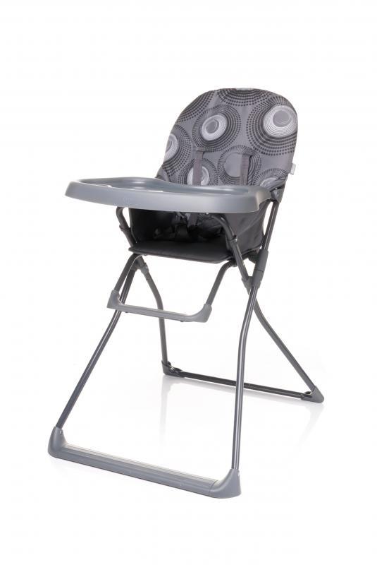 Jídelní židlička 4Baby Flower 2017 - grey