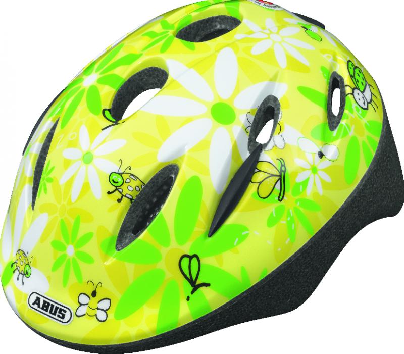 Dětská cyklistická helma ABUS Smooty - Model Beetle Sun - velikost M