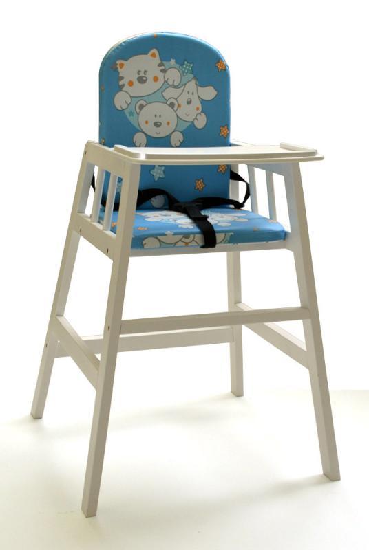 Jídelní židlička Faktum Abigel - bílá