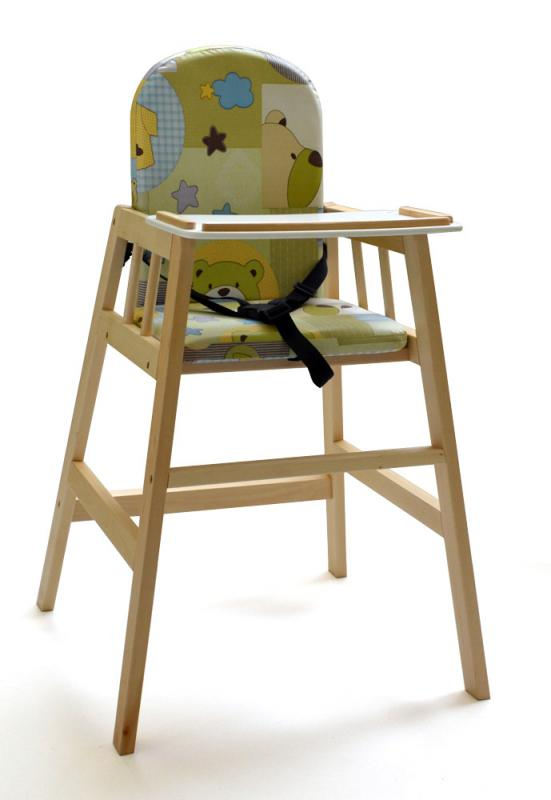 Jídelní židlička Faktum Abigel - přírodní