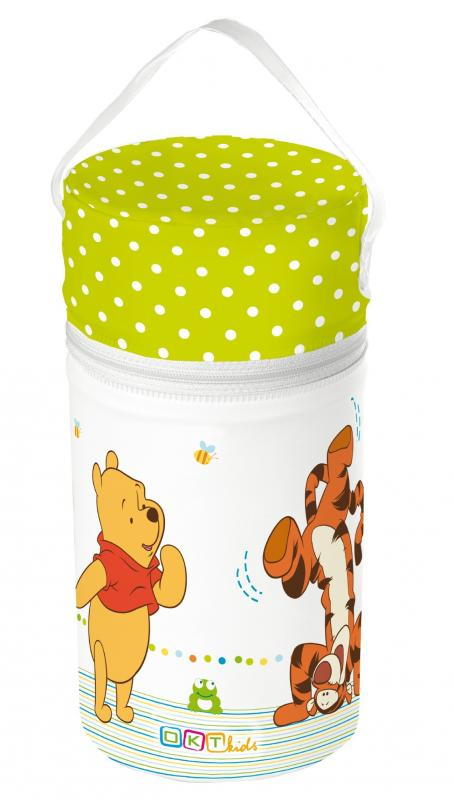 OKT Termoobal na kojeneckou lahev Winnie Pooh - bílá