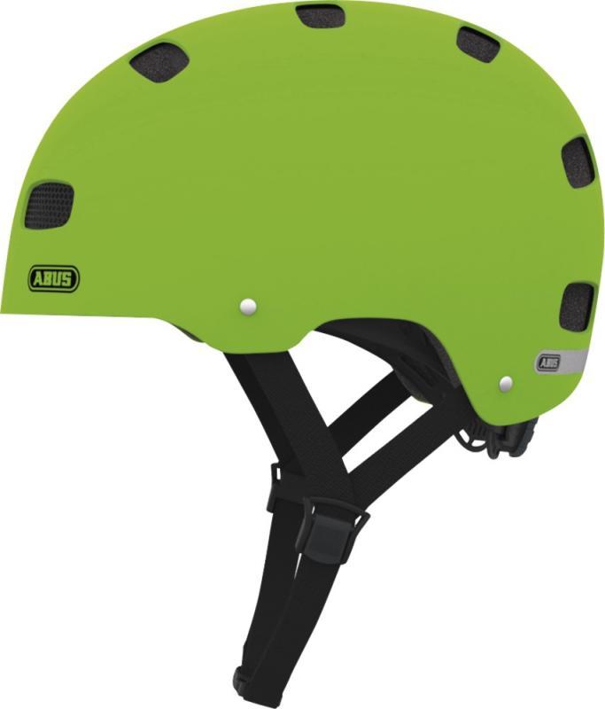 Dětská cyklistická helma ABUS SCRAPER KID - Green velikost S
