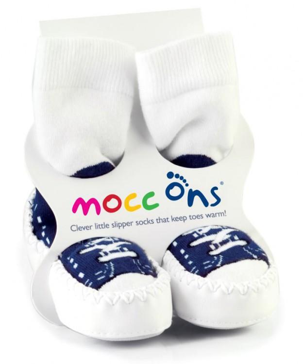 MOCC ONS® ponožkové mokasíny 6-12 měsíců - Sneakers Navy