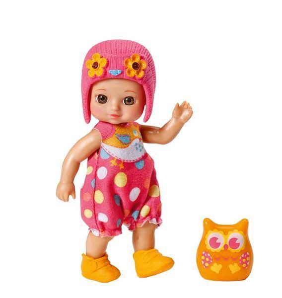 Zapf mini CHOU CHOU Sovičky 2 - Elly, oranžová sovička
