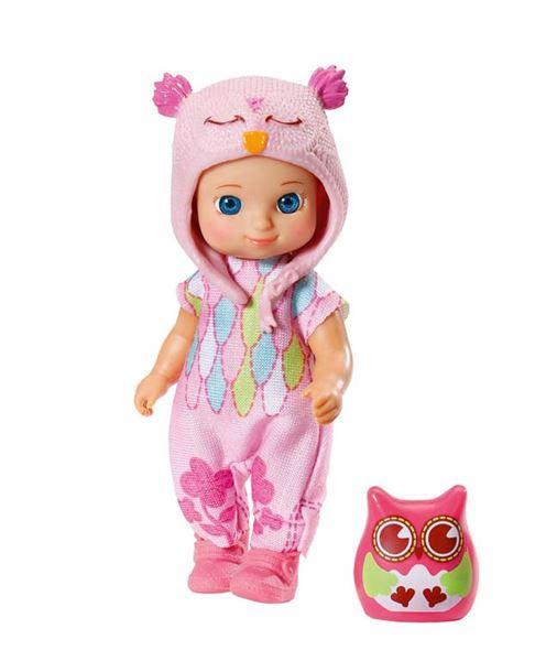 Zapf mini CHOU CHOU Sovičky 2 - Holly, tmavě růžová sovička