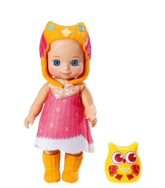 Zapf mini CHOU CHOU Sovičky 2 - Sunny, žlutá sovička