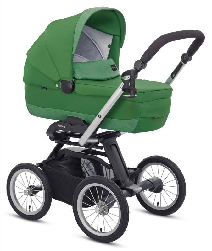 Kočárek Inglesina Quad s podvozkem Quad XT 2016 - golf green