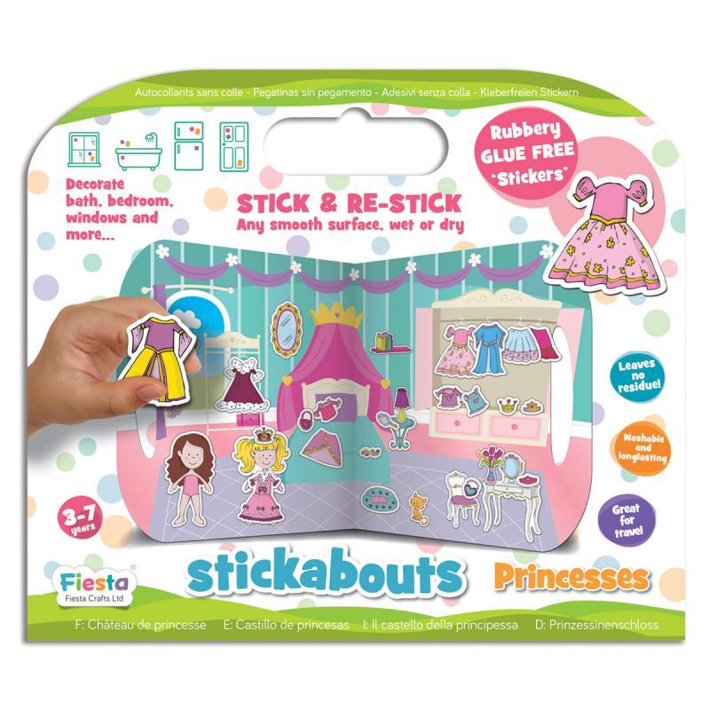 Fiesta Crafts zábavné přelepky - princezny