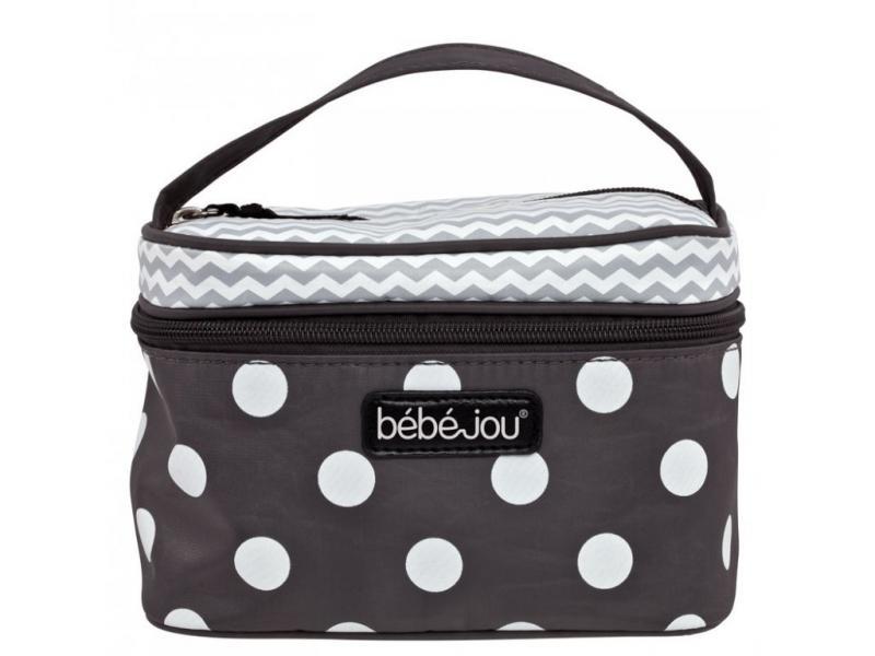 Bébé-Jou kosmetická taška Beautycase - 30- Grey Dots