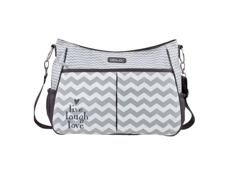 Bébé-Jou luxusní přebalovací taška - Chevron Grey