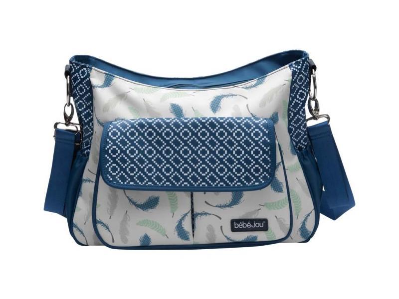 Bébé-Jou luxusní přebalovací taška - Little Dreamer pírka