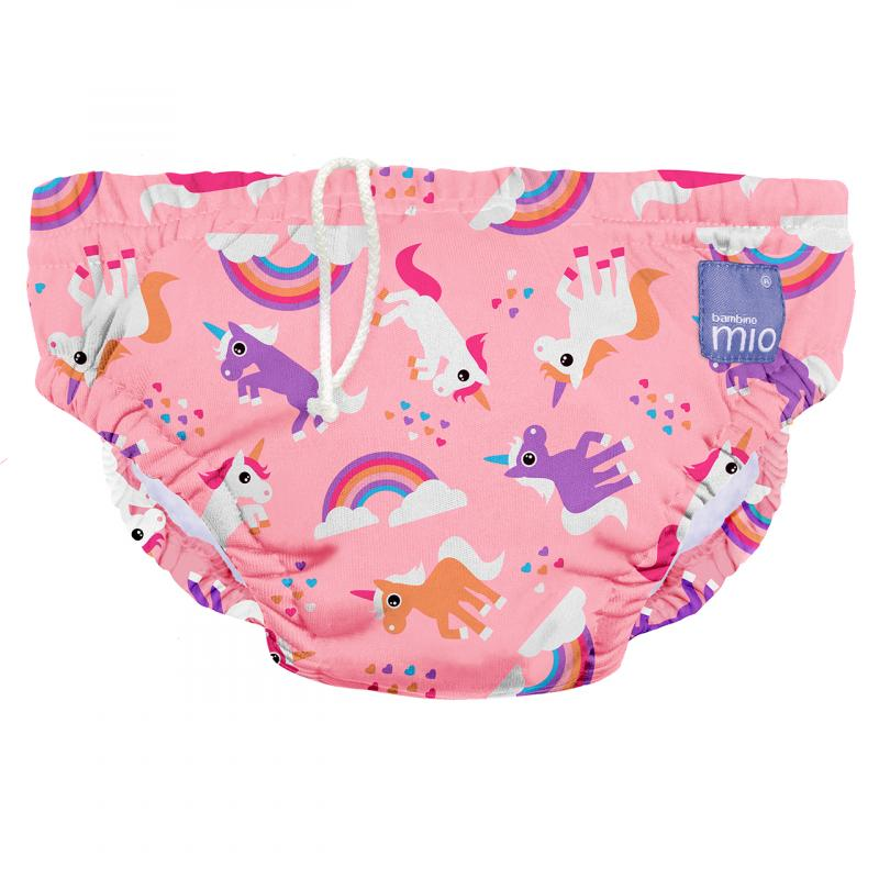 Bambinomio kalhotky na koupání - Unicorn - M (7-9 kg)