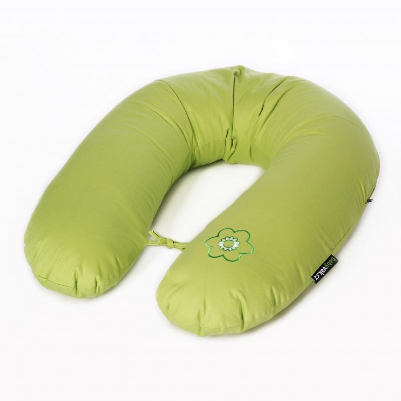 Babyvak Polštář na kojení polystyren - green