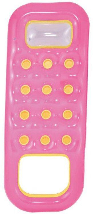 Bestway Nafukovací matrace s otvorem na nohy 185x74 cm - růžová
