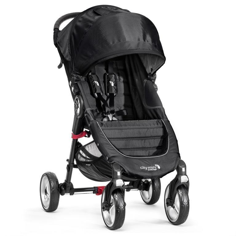 Kočárek Baby Jogger City Mini 4 kola 2017 - Black