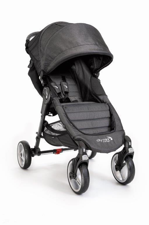 Kočárek Baby Jogger City Mini 4 kola 2017 - Charcoal
