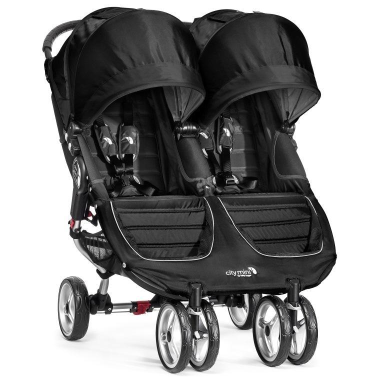 Kočárek Baby Jogger City Mini Double 2017 - Black