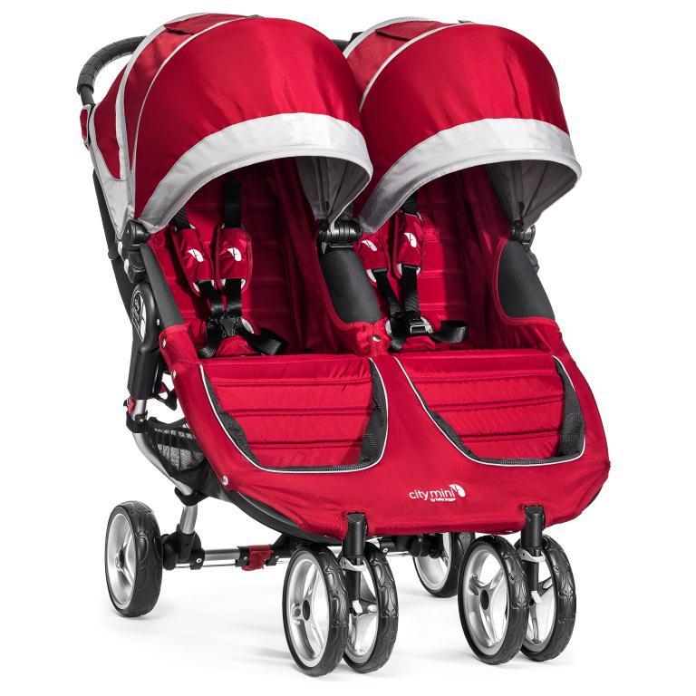 Kočárek Baby Jogger City Mini Double 2017 - Crimson