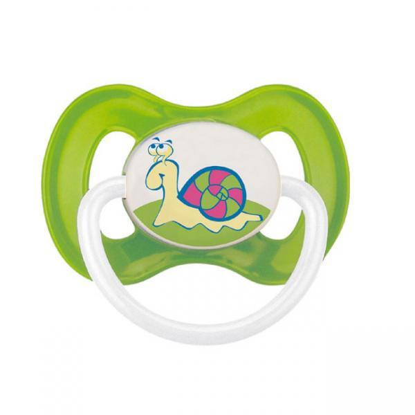 Canpol babies dudlík silikonový symetrický 0-6m COUNTRY - zelený