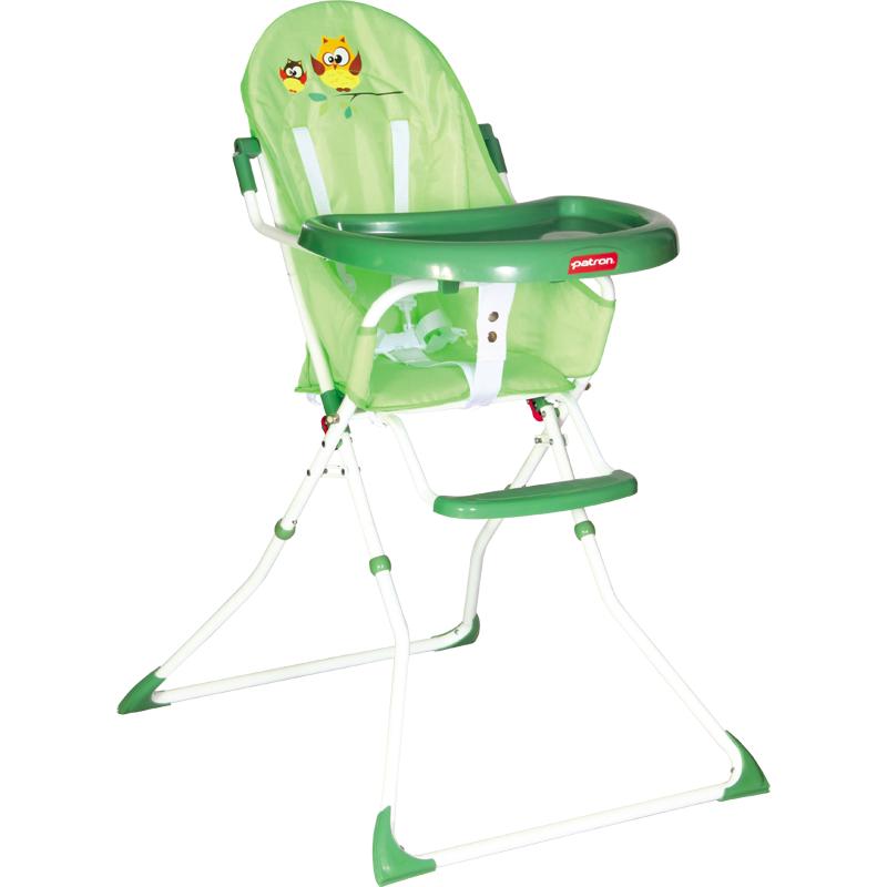 Jídelní židlička Patron Bee - Owl Green