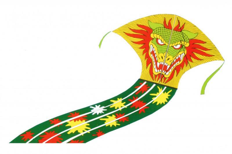 Rappa Drak létající Monster 43 x 70 cm - C