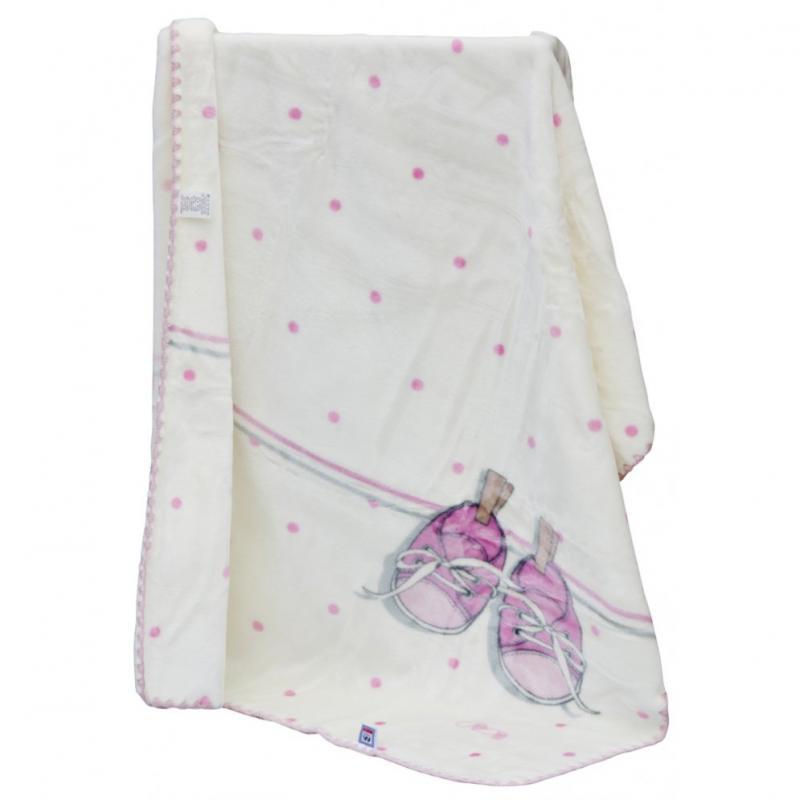 Scarlett Španělská deka akrylová B51 - růžová