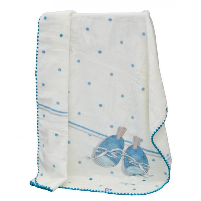 Scarlett Španělská deka akrylová B51 - modrá