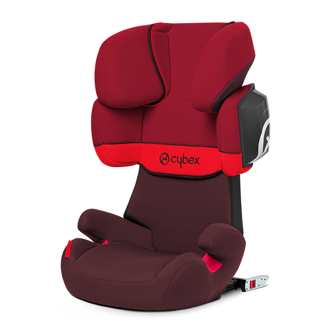 Autosedačka Cybex Solution X2-fix 2017 - Rumba Red