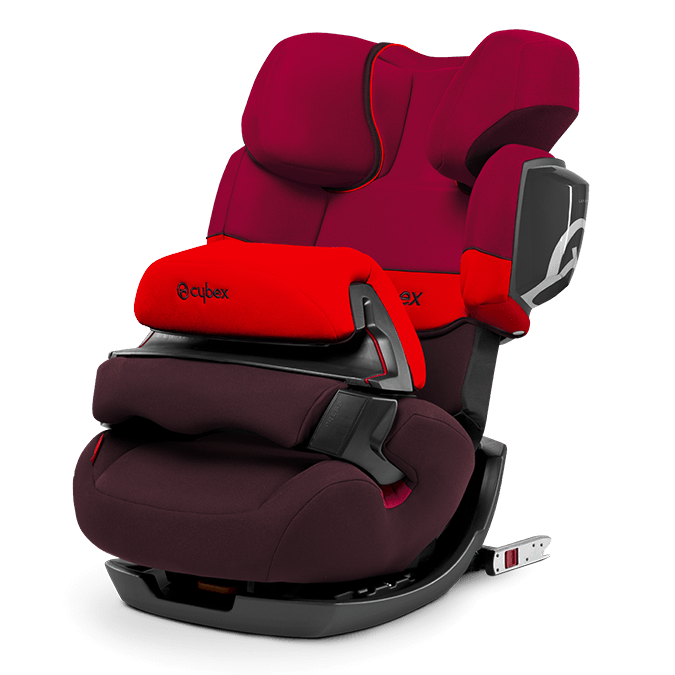 Autosedačka Cybex Pallas 2-fix Titan Line 2017 - Rumba Red