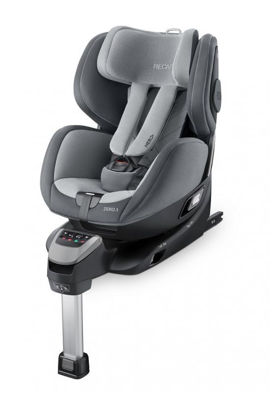 Autosedačka Recaro Zero.1 i-Size 2020 - Aluminium Grey
