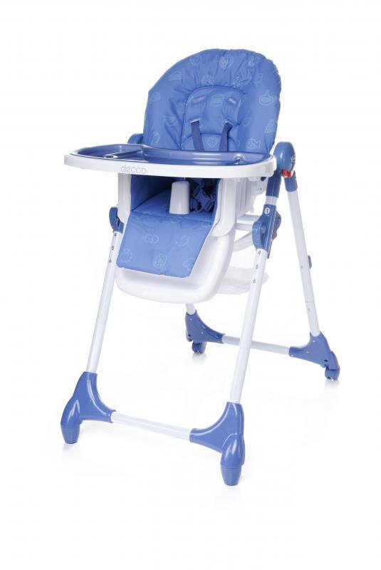 Jídelní židlička 4Baby Decco 2017 - blue