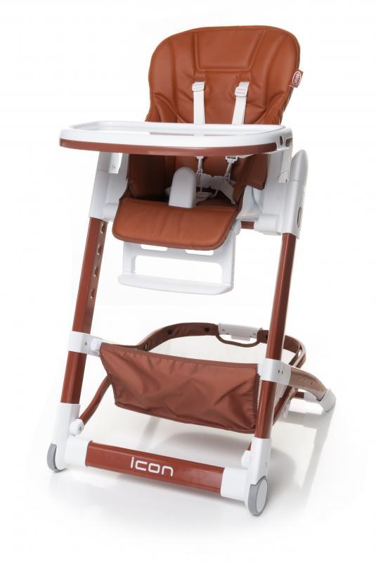 4Baby Jídelní židlička Icon 2017 - brown
