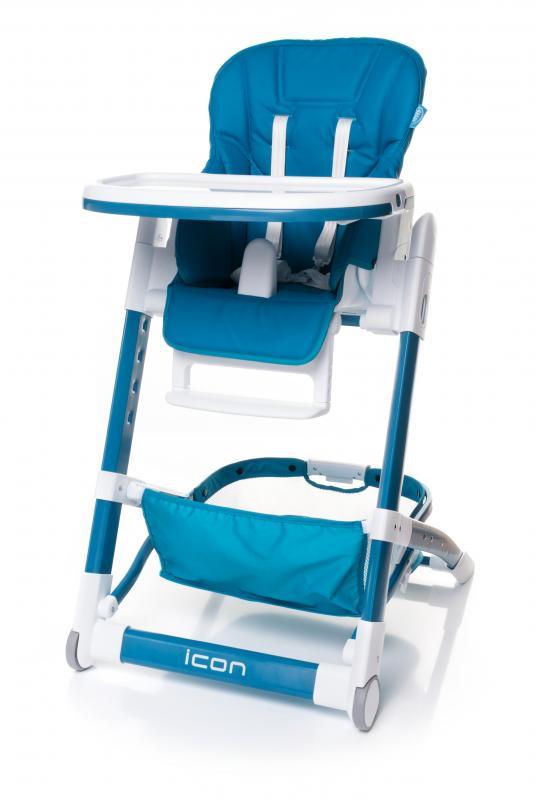 4Baby Jídelní židlička Icon 2017 - navy blue