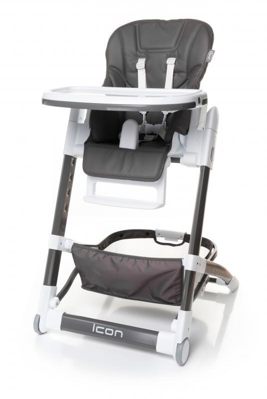 4Baby Jídelní židlička Icon 2017 - grey