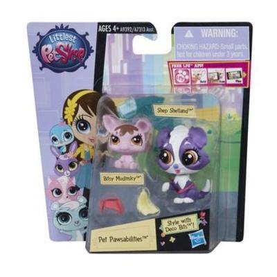 Hasbro Littlest Pet Shop Maminka s miminkem zdobitelné - Shep Shetland