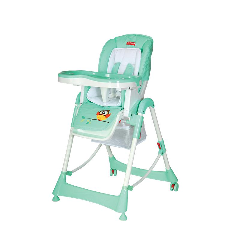 Jídelní židlička Patron Troll - Owl Mint