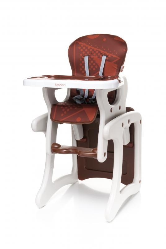 Jídelní židlička 4Baby Fashion 2017 - brown