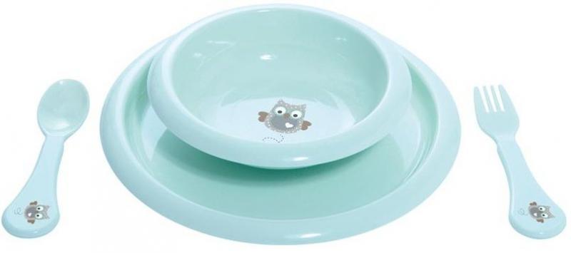 Bébé-Jou jídelní souprava - Owl Family sovičky