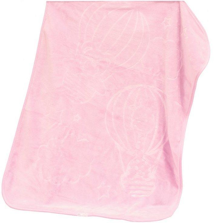 Scarlett Španělská deka akrylová - vytlačený vzor B12 - růžová