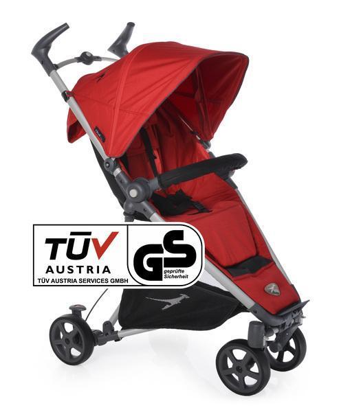 Kočárek TFK Dot 2017 - Tango Red T-DOT-345