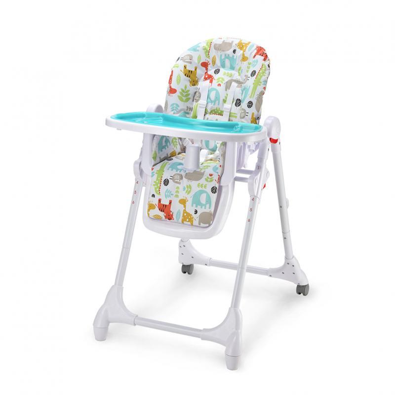 Jídelní židlička Petite&Mars Zola - modrá