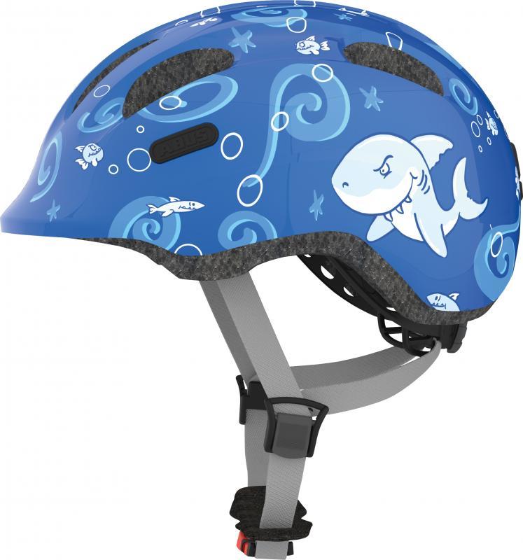 Dětská cyklistická helma ABUS Smiley 2 - Model SHARKY - velikost M