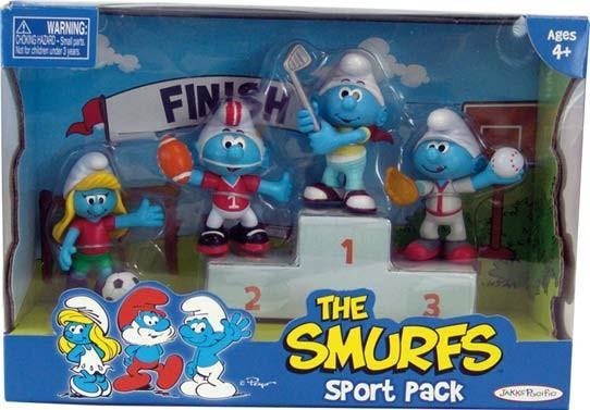 EP Line Šmoulové sada 4 figurky - Sport Pack