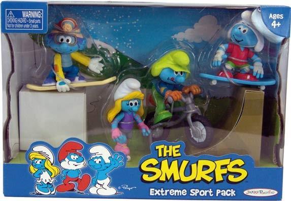 EP Line Šmoulové sada 4 figurky - Extreme Sport Pack