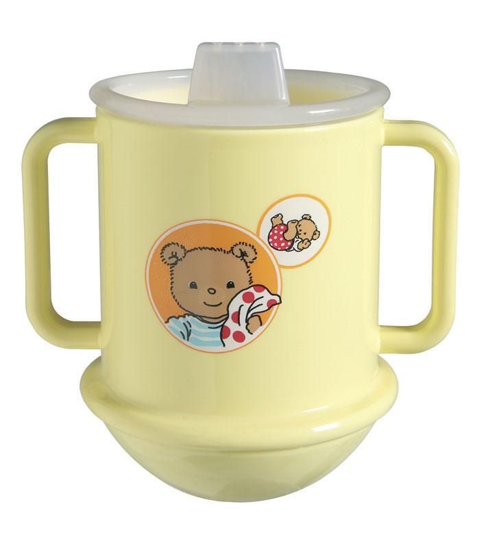 Bébé-Jou učící hrneček - Bubble Bear gelb*