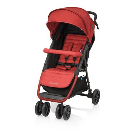 Kočárek Baby Design Click 2017 - 01 orange