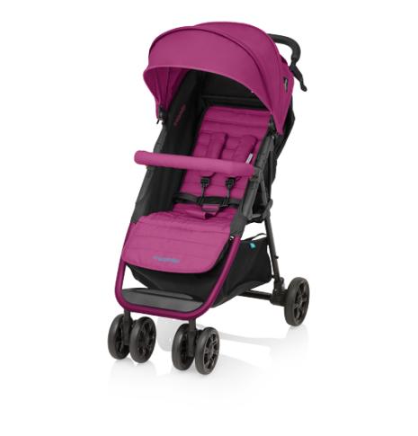 Kočárek Baby Design Click 2017 - 08 pink