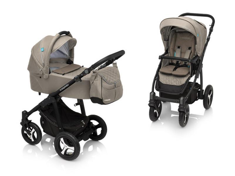 Kočárek Baby Design Lupo Comfort 2018 - 09 beige-black