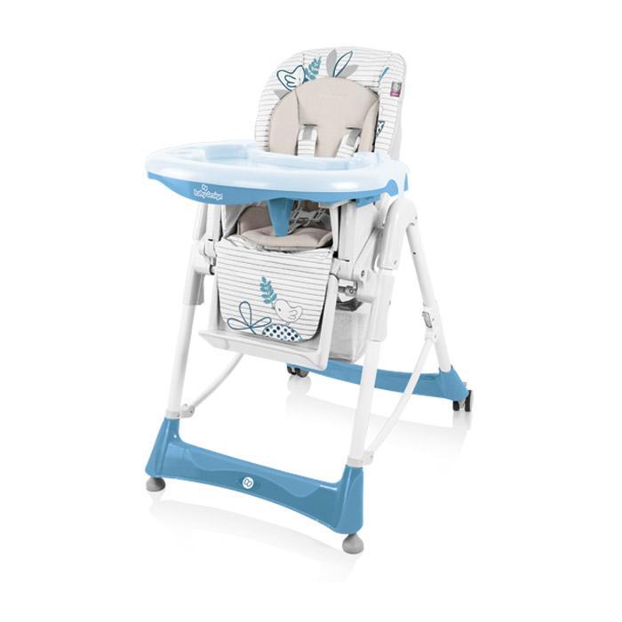 Jídelní židlička Baby Design Bambi 2017 - 03 blue